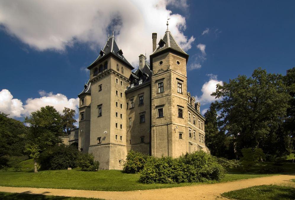 Zamek zachwyca każdego turystę.