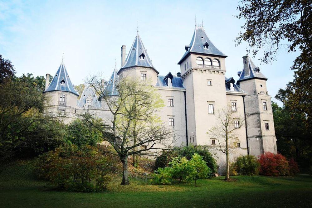 Zamek w Gołuchowie - Ciekawe miejsca w Polsce