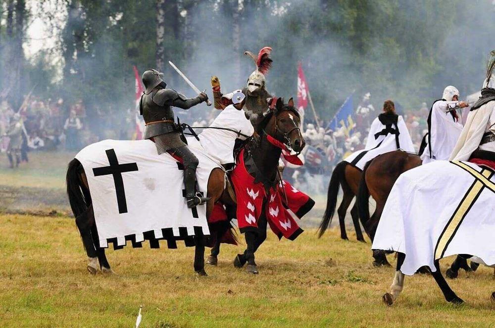 Pola bitwy pod Grunwaldem