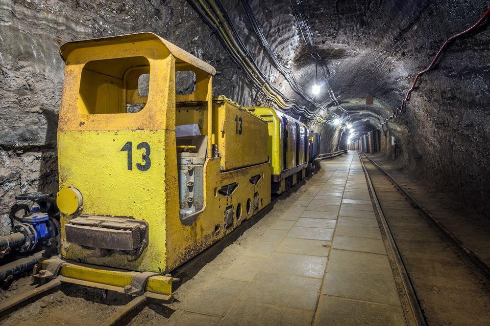 Jedna z wielu atrakcji kopalni w Bochni