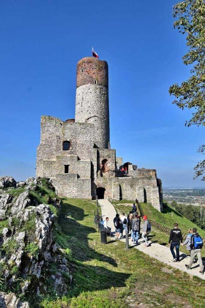 zamek chęciny - widok