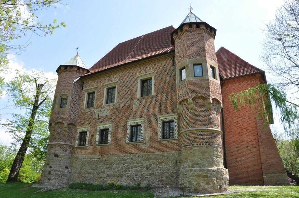 Zamek rycerski w Dębnie