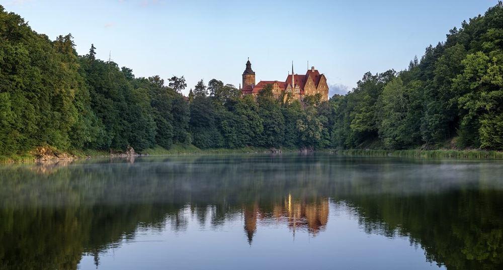 przyroda zamku czocha