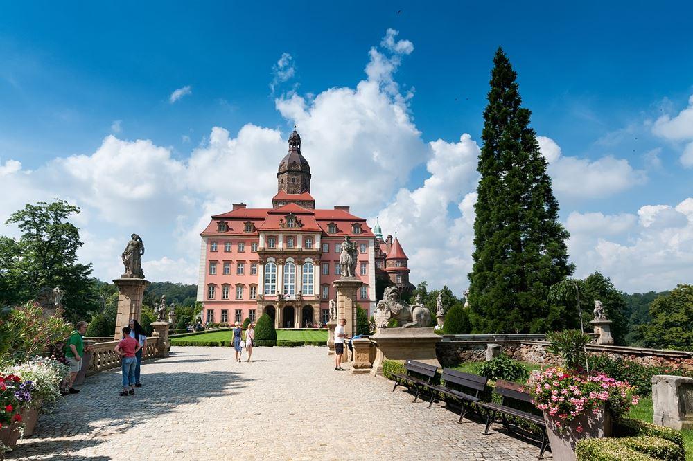 Książ to jeden z najpiękniejszych polskich zamków.