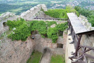 zamek chojnik - ruiny zamku