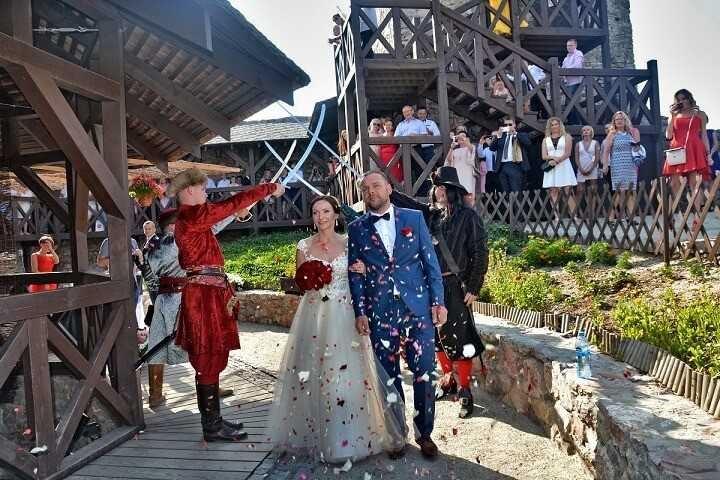 Zamek Chęciny - Ślub