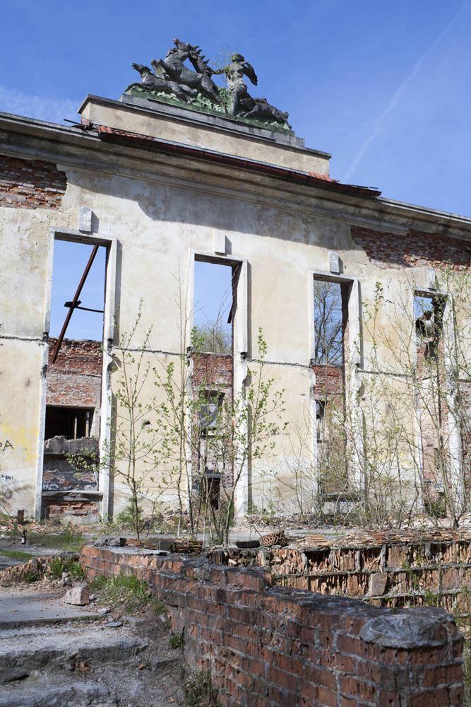 Opuszczony dom oficera - Borne Sulinowo