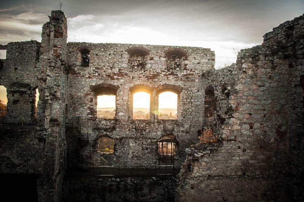 Ruiny Zamku - atrakcja dla każdego