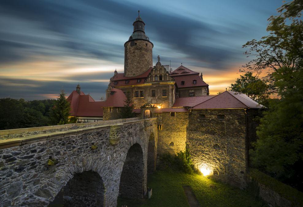 zamek czocha - dolny śląsk - jelenia góra