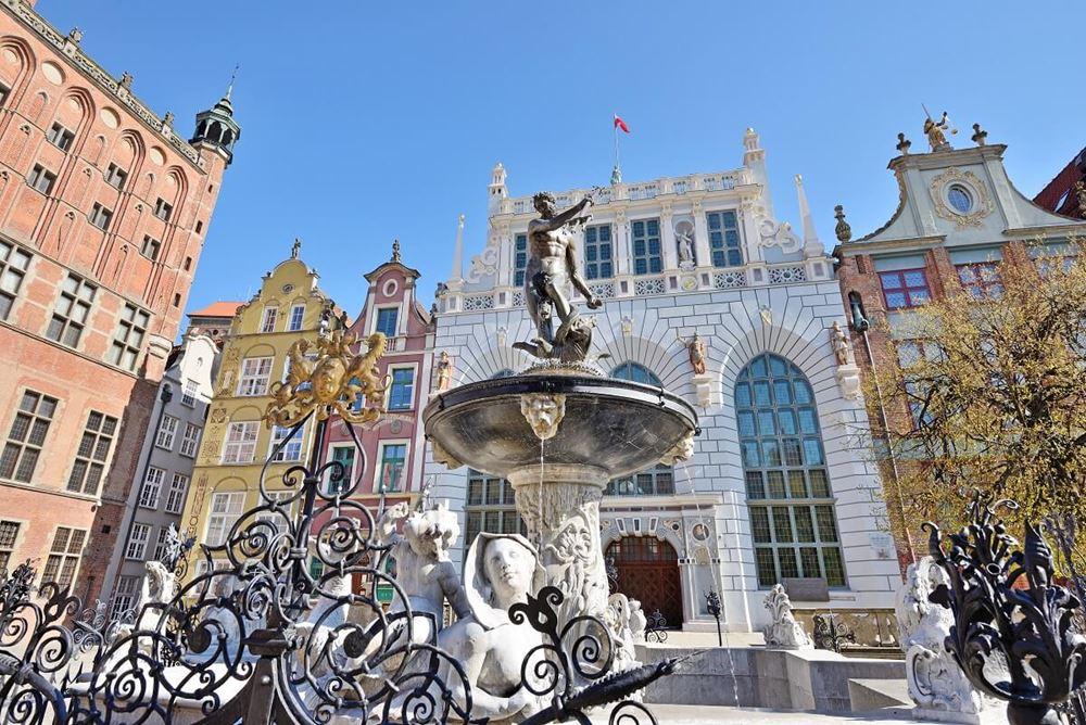 fontanna neptuna - gdańsk - gdansk atrakcje galeria