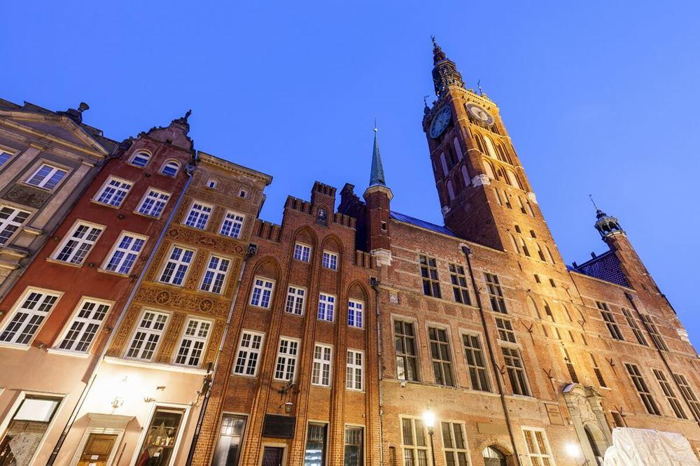 ratusz głównego miasta - starego miasta - gdańsk