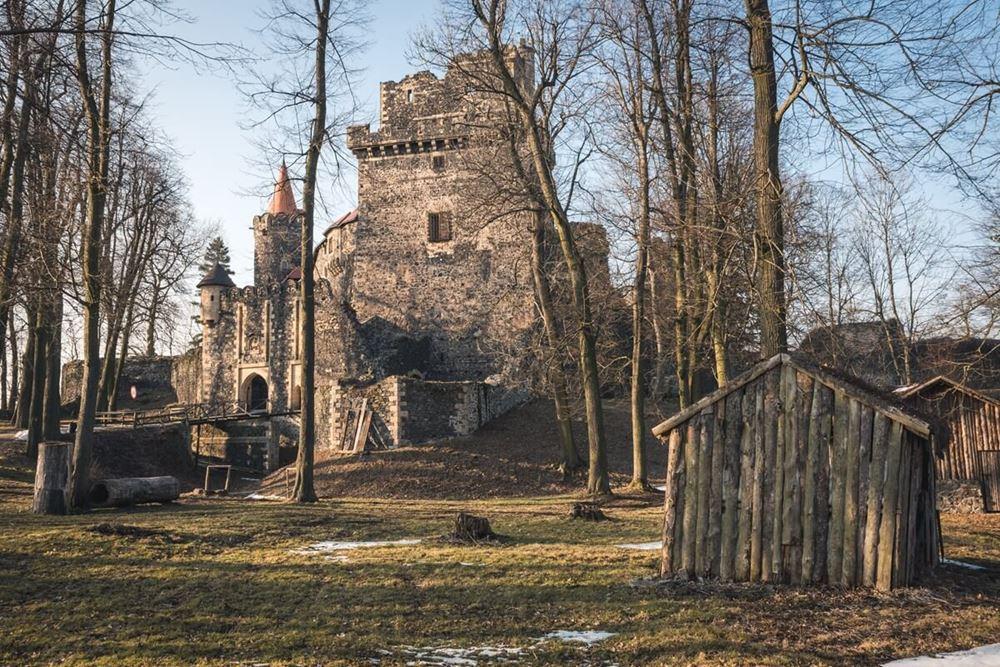 Widok na Zamek Grodziec