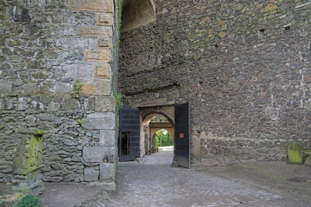 Wewnętrzna część - Zamek Grodziec