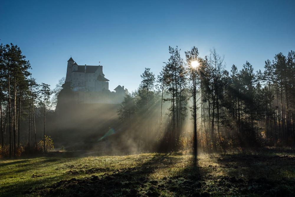 Zamek Bobolice atrakcje turystyczne