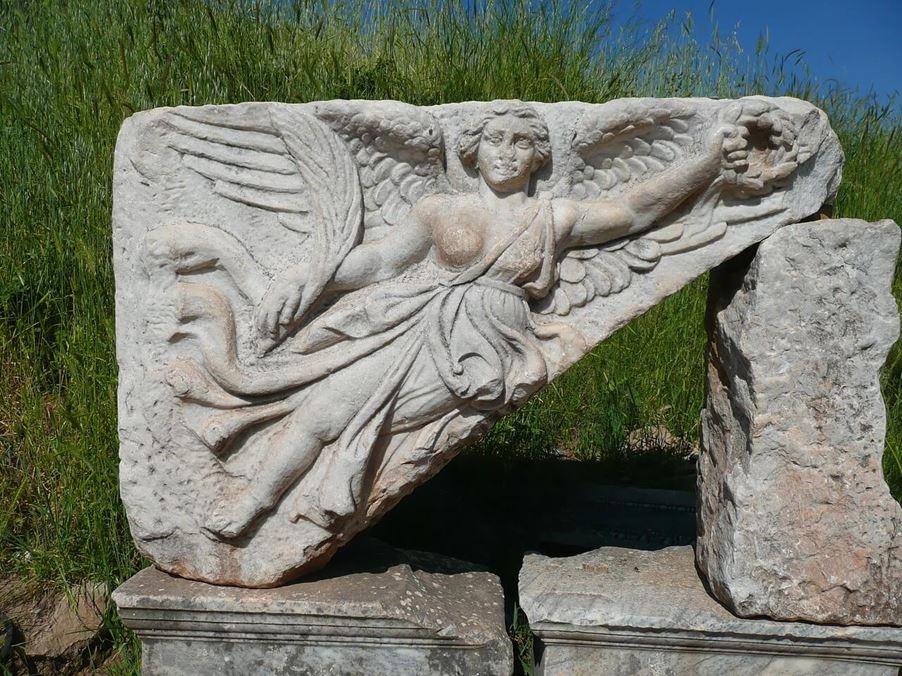Nike Bogini Zwycięstwa - Miasto Efez