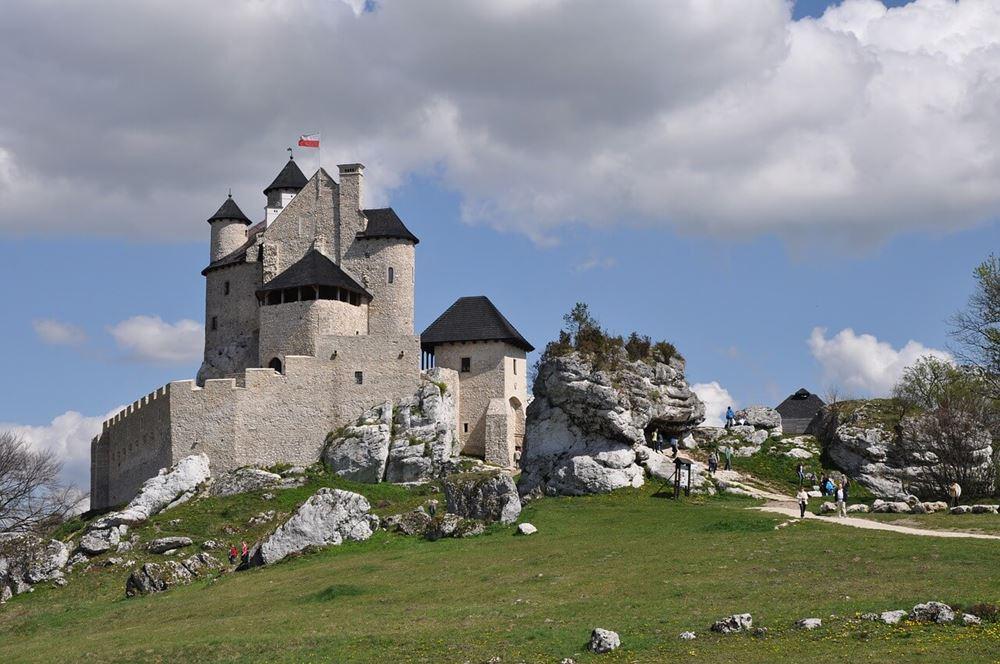Zamek Bobolice na Śląsku