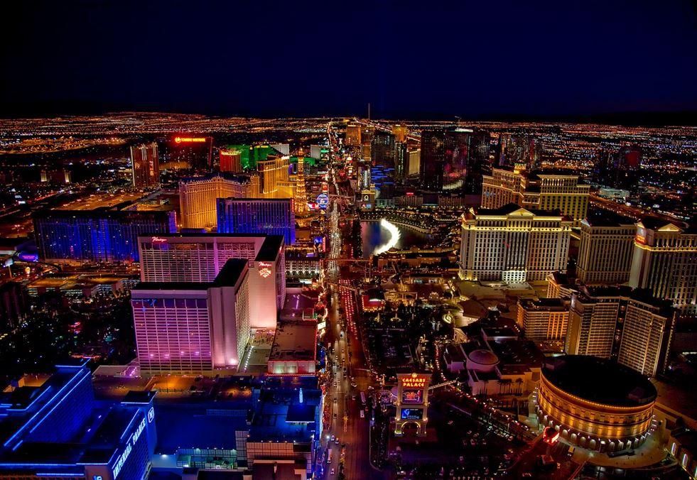 Las Vegas z góry