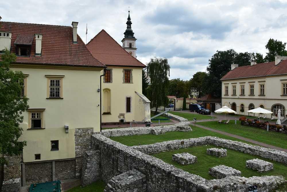 Zamek w Wieliczce