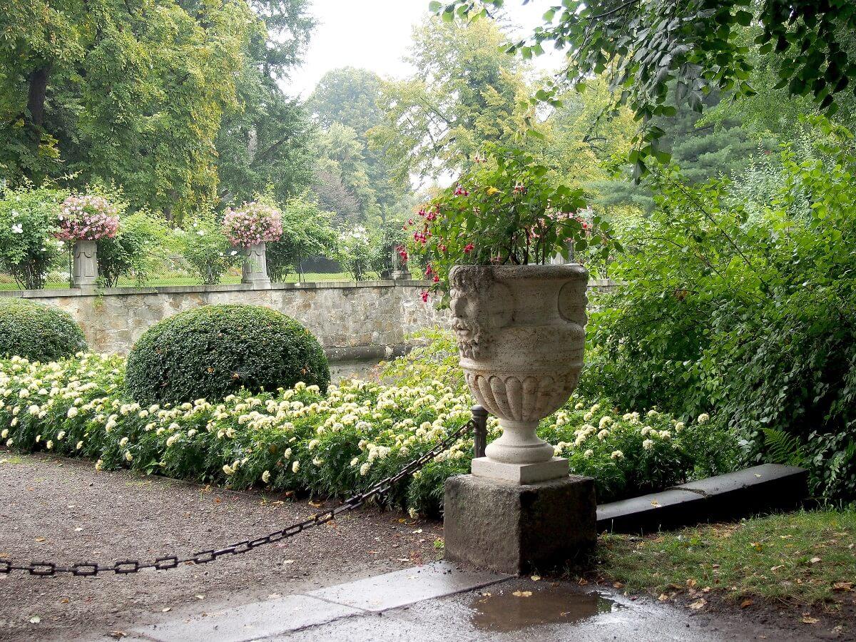 Park zamkowy - Zamek w Łańcucie