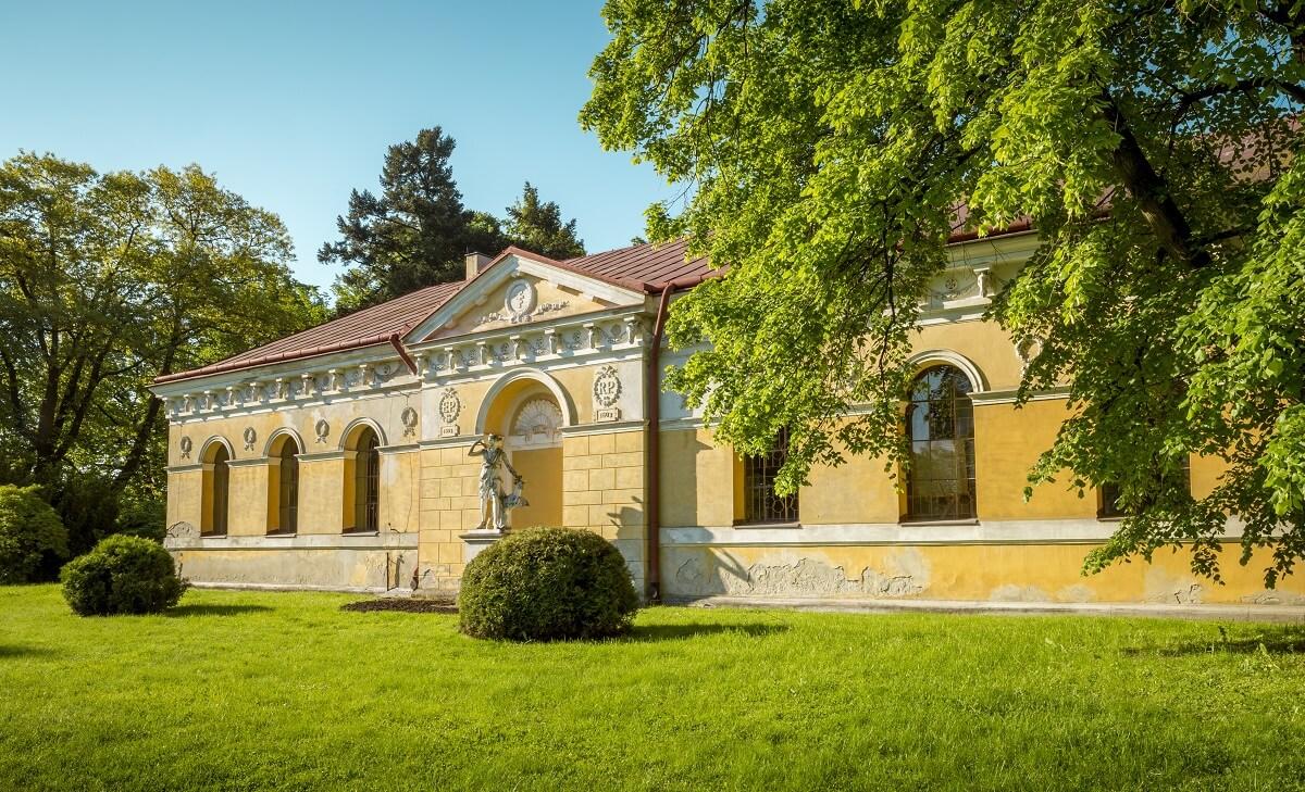 atrakcje parku zamkowego - zamek Łańcut