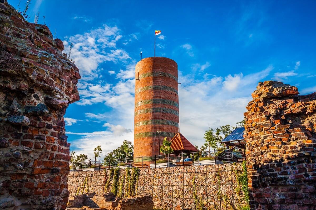 Klimek - wieża zamkowa