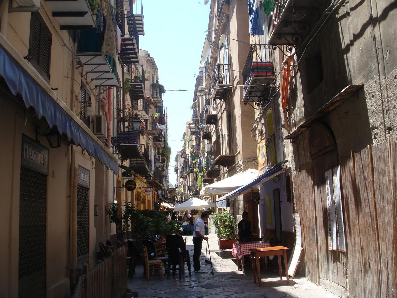 urokliwe uliczki Palermo