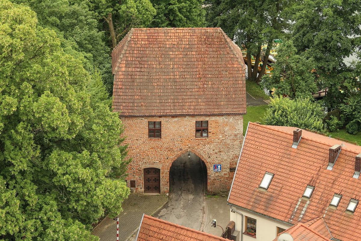 brama polska w Łagowie
